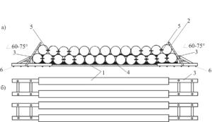 Схема штабеля